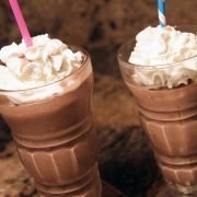 the happy chocolate shake