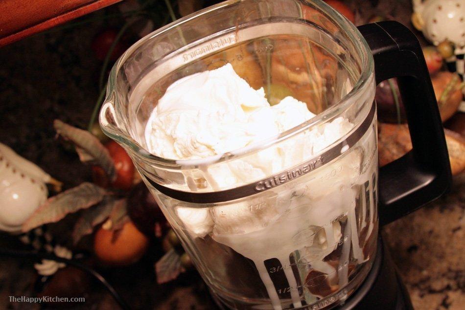 happy chocolate shake