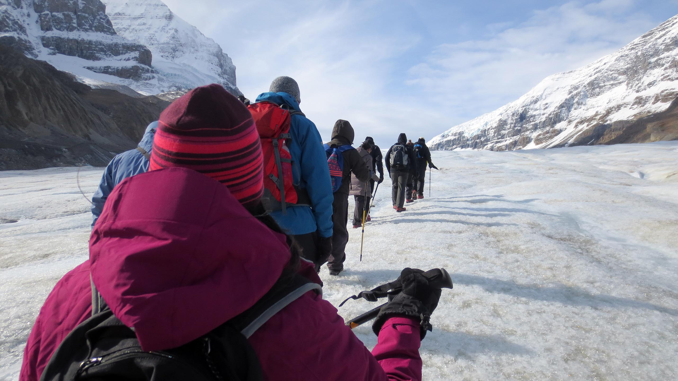canadas athabasca glacier adventure