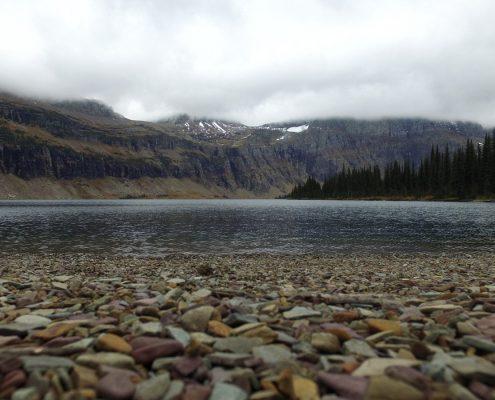 Hidden Lake rocks