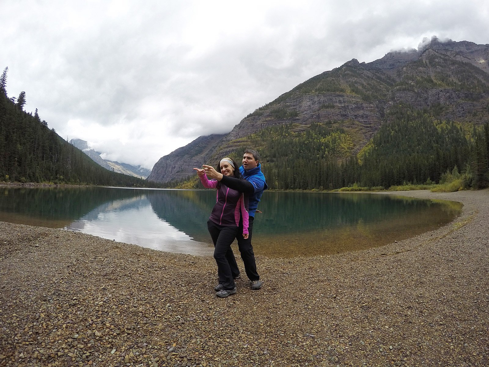glacier national park is a must