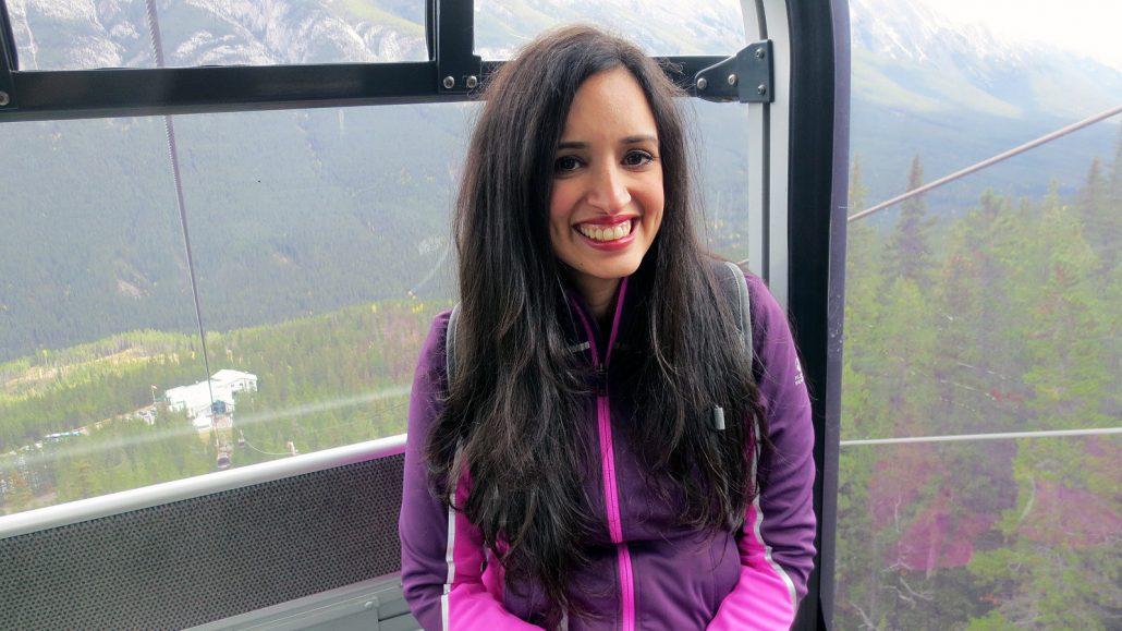 enjoying brewsters gondola ride